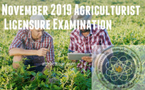 Congratulations! November 2019 Agriculturist Board Exam Results