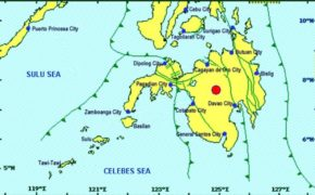 Magnitude 5.9 quake Jolts Kadingilan (Bukidnon) on Monday Evening, Nov. 18, 2019