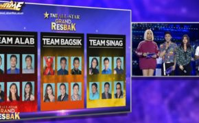 Winners of TNT All-Star Grand Resbak Episode on Nov. 18, 2019 are Lalainne Arana and John Raymundo