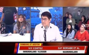 Watch Raffy Tulfo in Action: Girlfriend of Cong TV, VIY Cortez says Sorry to Merchants