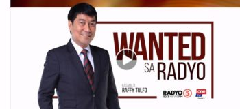 LIVE NOW: Wanted Sa Radyo Raffy Tulfo In Action August 4, 2020 (Tuesday)