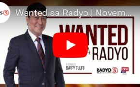 WATCH LIVE: Wanted Sa Radyo Raffy Tulfo In Action November 15, 2019 (Friday)