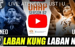LIVE STREAM: UST VS ATENEO UAAP82 Mens Basketball Finals Game 2