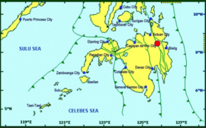 JUST IN: 3.3 Magnitude Earthquake hits Talacogon (Agusan Del Sur) on Thursday, December 12, 2019