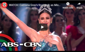 Miss Universe 2018 Catriona Gray Final Walk