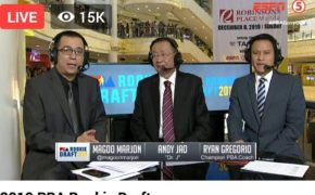 Watch Live: 2019 PBA Draft Rookie Selections