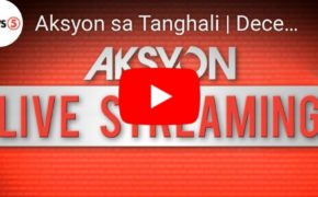 "LIVE NOW: ""Aksyon sa Tanghali"" News5 December 5, 2019 (Thursday)"