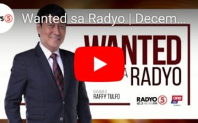 Watch Live: Wanted sa Radyo Raffy Tulfo in Action December 10, 2019 (Tuesday)