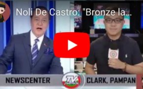 "WATCH: Netizens slammed Noli De Castro on ""Bronze Lang"" comment to Efren Bata Reyes on Sea Games 2019"