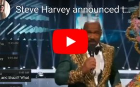 "WATCH: Steve Harvey Wrong Announcement on who Wins the ""National Costume Award"""