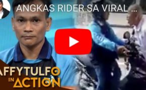 "Watch Raffy Tulfo In Action: Viral Video ""Angkas Driver"" Vs ""Enraged Bald Passenger"""
