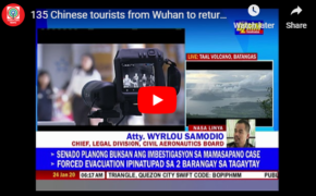 135 Chinese Tourists from Wuhan Now in Kalibo Pabalikin Na Video Exclusive in DZMM