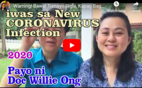 CORONAVIRUS PREVENTION: Dr. Willie Ong and Dr. Liza Ong Health Tips to Avoid Infection