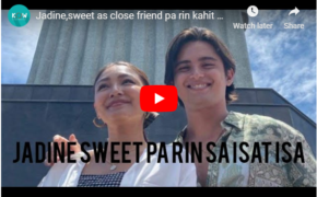 VIDEO: James Reid and Nadine Lustre Caught in Poblacion Sweet Together