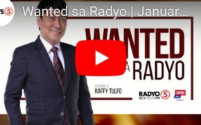 WATCH LIVE: Wanted Sa Radyo Raffy Tulfo In Action January 17, 2020 (Friday)