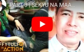 "Watch Raffy Tulfo In Action: Part 3 Arrogant Security Guard On ""Rexander Baltisoto"" On His Knees And Pleads For Forgiveness"