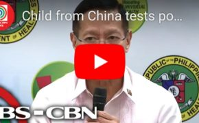 Watch Health News Alet: DOH Confirms Child From Cebu Positive Of Wuhan Coronavirus