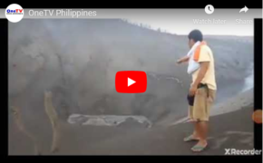 Watch: Taal Volcano Actual Video Near the Crater After Explosion on Jan.12