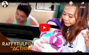 VIRAL Video ng Lalaki, NICO PANERIO NagDodota Lang Habang Naghihingalo ang Anak