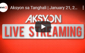 Aksyon sa Tanghali | January 21, 2020 LIVESTREAMING NOW