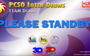 LIVE NOW: PCSO 11:00 AM Lotto Draw Results (February 21, 2020)
