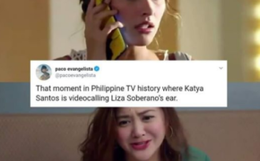 That moment in Philippine TV history where Katya Santos is video calling Liza Soberano's ear Went Viral