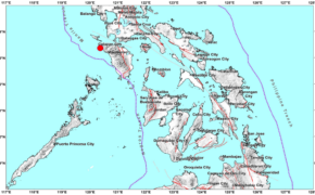 BREAKING NEWS: Magnitude 3.5 Earthquake Hits Paluan (Occidental Mindoro) on Tuesday Morning, February 18, 2020
