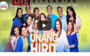 Watch LIVE: Unang Hirit Episode on Wednesday, February 19, 2020