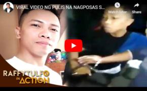 "Police PTMN Darwin Pagasita    Nagposas ng Mantika Vendor Jordan Abrantes in ""Raffy Tulfo in Action"""