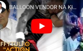 "Watch Raffy Tulfo In Action: Viral Now Balloon Vendor Burned By Group Of Teenagers ""Napagtripan ng Gangsters"" Face Their Demise"