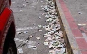 Viral Now: Desperate People In Italy Throws Money On The Streets Amid COVID-19 Outbreak