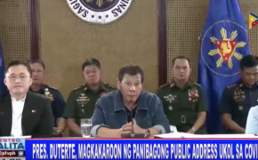 LIVESTREAM: President Rodrigo Duterte to address the public on Monday, March 30, 2020