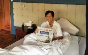 Former Senator Bongbong Marcos Positive for COVID-19
