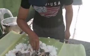 Video of 'Boodle Fight With Social Distancing' Went Viral