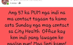 WARNING: Vice Mayor El Cid Familiaran Gives Ultimatum For Missing 57 PUM in Bacolod City