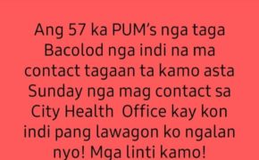 JUST IN: Vice Mayor El Cid Familiaran Gives Ultimatum For Missing 57 PUM In Bacolod City