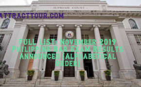 FULL LIST: November 2019 Philippine Bar Exam Results Announced (Alphabetical Order)