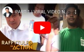 "Watch Raffy Tulfo In Action: Part 1 & 2 Viral Video Of A Grab Driver ""Cedric Salaya"" Not Paid By Customer Due To Double Booking"