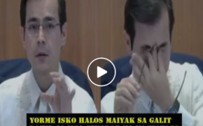 VIRAL Post of YORME ISKO MORENO Almost Crying Calling Hiding Senators