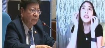"""Rep. Marcoleta Explain on using Kim Chiu's """"Bawal Lumabas"""" Viral Video"""