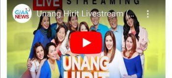 LIVE NOW: 'Unang Hirit' Gma7 June 1, 2020 (Monday)