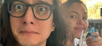 Judy Ann Santos Gave Ryan Agoncillo a Haircut Herself