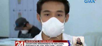 """Ken Chan's Statement Regarding the Accident """"Sobrang naaawa ako kay Tatay na nakabangga po sa akin."""""""