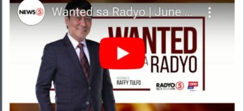 WATCH LIVE: Wanted Sa Radyo Raffy Tulfo In Action June 5, 2020 (Friday)