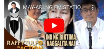 Watch Raffy Tulfo In Action: Amira Alawi Sister Of Ivana Alawi Sues Mr. Willie Asuncion For Being Irresponsible By Not Supporting Their Child