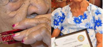 Guinness World Records-122-Year-Old Harmonica Lola; Oldest Living Woman in the World from Negros Occidental