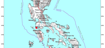 4.3 Magnitude Earthquake Hits Calatagan (Batangas) on Wednesday, July 8, 2020