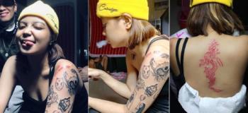 Ryssi Avila versus Zeinab Harake Tattoo Went Viral Online