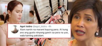 VIRAL NOW: Actress Agot Isidro Criticized Jinkee Pacquiao For Posting   Hermes Bike Brand In Social Media