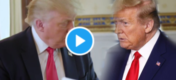 Spoof Video of Pres. Donald Trump Interviewing Himself Viral in Social Media